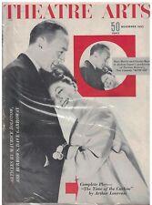 Nov 1953 issue of Theatre Arts Magazine Mary Martin & Charles Boyer Kind Sir
