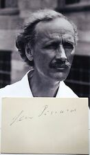 Jean Piccard Prominent Swiss Inventor, Balloonist, Engineer Autograph 'Rare'