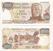 ARGENTINA  $ 1,000.- / 1000 ND(1979) P-304b UNC 2449/a SERIE E P.C.LOPEZ-A.C.DIZ
