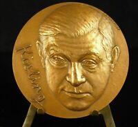 Medal Painter Artist Hillary Moses Kisling FC Torcheux 68mm Medal 铜牌