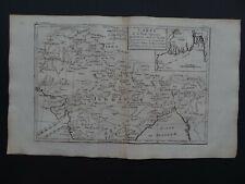1780 Atlas map  INDIA - Inde Gange Mogol Indostan - Bengal - Bangladesh