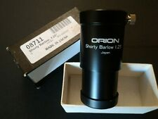 Orion shorty barlow. 1.25""