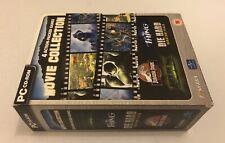 Movie Collection Inc Jurassic Park Operation Genesis Die Hard Hulk PC CD-ROM PAL