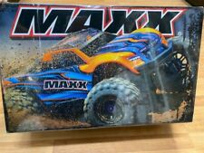 Traxxas Maxx RTR 4WD Brushless Monster Truck 1/10 Electric Orange 89076-4 New!!
