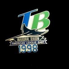 1998 -TAMPA BAY DEVIL RAYS - INAUGURAL SEASON PIN - American League East - Mint