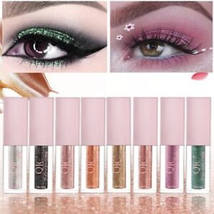 Waterproof Eyeshadow Makeup Glitter Liquid Long Lasting Eye Shadow Pen Cosmetics