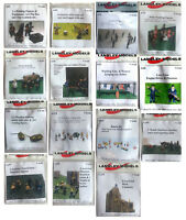 Langley Models N Gauge N Scale 1:148 Figures People various options UNPAINTED
