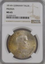 Prussia Germany Thaler 1814 A Top Pop NGC MS65