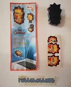 UN183 USB PENDRIVE THE SIMPSONS + BPZ KINDER SORPRESA ITALIA 2010/2011
