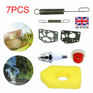 7Pcs Lawn Mower Service Part Kit for Briggs & Stratton Classic & Sprint Engines