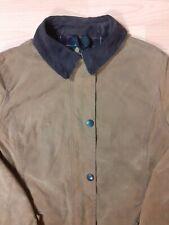 Barbour Women's wax jacket  Brown UK Size 12 Original Barbour Tartan
