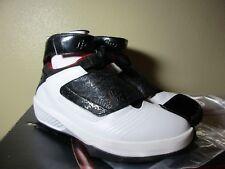 2005 Nike Air Jordan 20 QS OG US 9.5 Not Retro White/Black