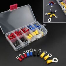 102pcs Assorted Ring Terminal Connector 22-10 AWG Crimp Gauge Wire Kit 4 Color