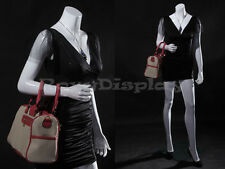 Female Fiberglass Headless style Mannequin Dress Form Display #Mz-Lisa7Bw