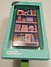 KATE SPADE iPhone 8/7 Comold/Hardshell Case; Library, Book, Travel, Owl themed