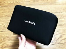 CHANEL Neoprene Medium Makeup Cosmetic Wash Bag Pouch VIP Gift