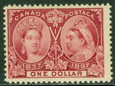 EDW1949SELL : CANADA 1898 Scott #61 Fresh & VF MOG with deep color Catalog $1000