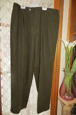 VINTAGE ~ CIRO Uomo ~ Brown Dress STYLE  PANTS * Size 38 *