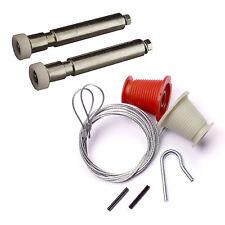 HENDERSON MERLIN REPAIR KIT Cables & Rollers (Nuts & Bolts) garage door spares