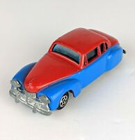 1976 Diecast Spiderman Marvel Comics Car L.J.N. Toys  1947 Lincoln Continental