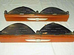 80-89 Cadillac Brougham Fleetwood driver passenger side turn signal light set