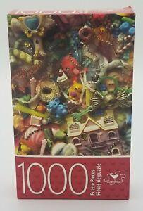 "Cardinal Brand - 1000 Piece Puzzle - ""Tiny Toys"" 14"" x 22"""