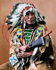 Native American Indian Sioux Chief Afraid of the Bear 6x5 Inch Reprint Photo
