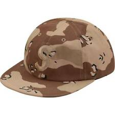 Supreme 17F/W Tonal S Logo 6-Panel Hat Desert Camo 1000% Authentic in Hand