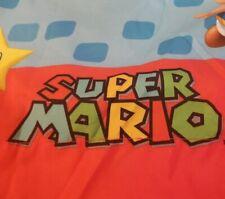 Super Mario Nintendo Flat Twin Sheet 2013. EUC