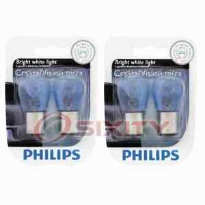 2 pc Philips Rear Side Marker Light Bulbs for Acura SLX 1996-1999 Electrical dk
