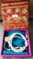 Chan Luu White Beaded and Crystal Wrap Bracelet – New