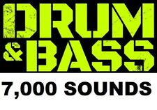 2.7GB Drum'N'Bass Loops Instrument Samples Dubstep DnB Electronica Jungle Breaks