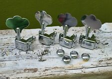 Fender Precision Jazz Bass Squier vintage style tuning pegs with rings and screw