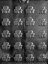 BITE SIZE SHAMROCKS  Chocolate Candy molds cake topper truffles shamrock