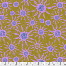 Triple Take - New Joy Free Spirit Cotton Quilt Fabric PWAM021 Maize Yellow