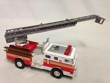 """Fire Engine Truck W/13"""" Ladder, 5.5"""" Die Cast Pull Back Action, Boy Girls Toy"""