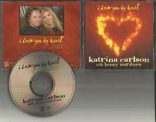BENNY MARDONES w/ KATRINA CARLSON I Know you By Heart PROMO Radio DJ CD single