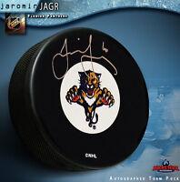 JAROMIR JAGR Signed Florida Panthers Puck