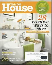 This Old House Magazine - Jan/Feb 2015 - 28 Creative Ways to Save and more!