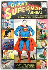 Superman Annual #1 (Aug 1960, DC) Comic Book - Missing Back Cover - Silver Age
