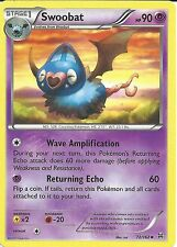 POKEMON CARD XY BREAK THROUGH - SWOOBAT 72/162