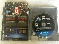 Marvel's Avengers:Earth's Mightiest  Edition Steelbook & GAME(PS4)