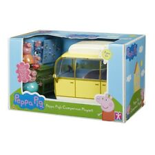 Peppa Pig Campervan Playset With 4 Figures and Accessories Toy