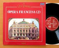Opera Francesa (2) Delibes Saint-Saens Gounod Massenet LONDON 424 350-1 NM/EX