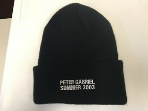 Peter Gabriel New Summer 2003 Up Tour Beanie Winter Hat