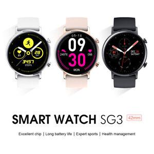"""SG3 Smart Watch 1.2"""" AMOLED Display IP68 Waterproof Sport Wear Fitness Tracker"""