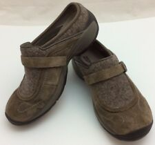 Women's Merrell Treviso MOC Stone Brown Suede Slip On Shoes Sizez 7.5