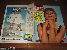 RIVISTA TEMPO 1957/4=ELEONORA ROSSI DRAGO=GRACE KELLY=GARCIA LORCA=SOFIA LOREN=