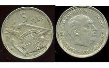 ESPAGNE 5 pesetas 1957 ( 67 )