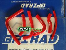silicone radiator hose Honda CR250 CR250R CR 250R 2-stroke 2000 2001 ,RED